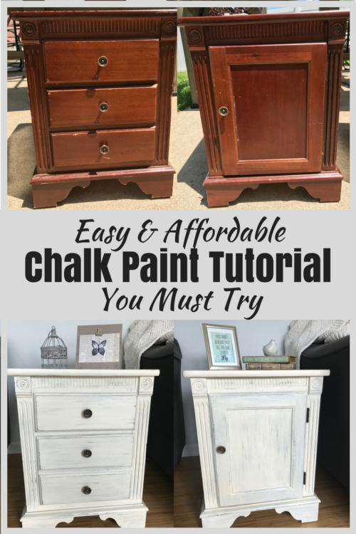 DIY Chalk Paint Tutorial