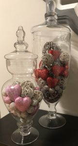 apothecary jars for vday