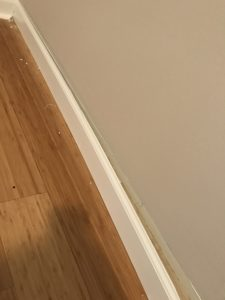 remove baseboards