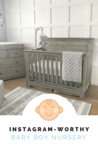 Basic Style Baby Boy Nursery Kayla B Collection