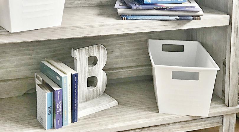 DIY Rustic Barnwood Book Ends