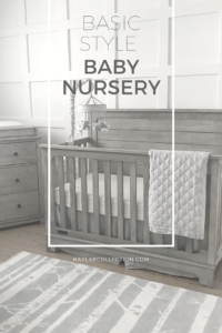 Basic Style Baby Boy Nursery Kayla B Collection
